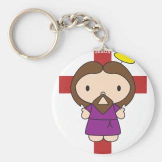 Hello Jesus Key Chain