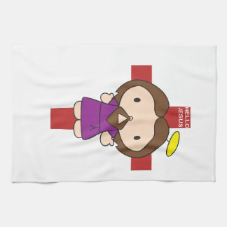 Hello Jesus Towels