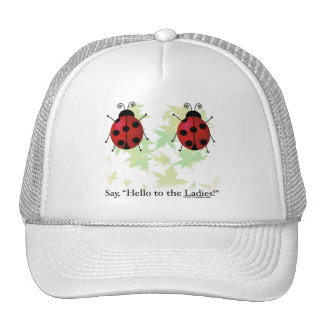 Hello Ladies Trucker Hat
