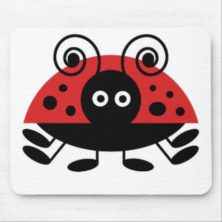 Hello Ladybug Mouse Pad