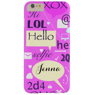 Hello, LOL, HI, personalised and customised case