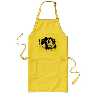 Hello Long Apron