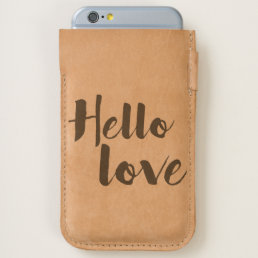 Hello Love iPhone 6/6S Case
