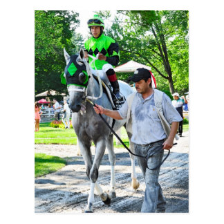 Hello Lover with Irad Ortiz Jr Post Card