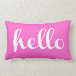 Hello! Lumbar Pillow