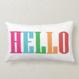 Hello Lumbar Pillow