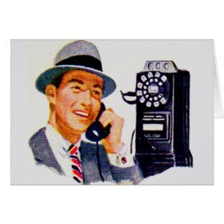 Hello, Mabel? It's Tony. Card