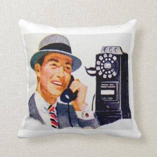 Hello, Mabel? It's Tony. Throw Pillow