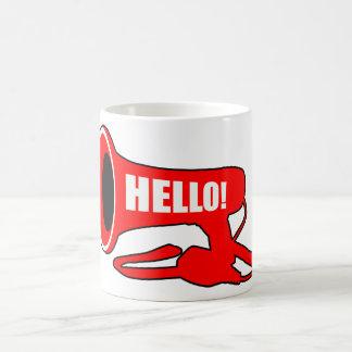 Hello Megaphone Coffee Mug