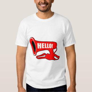 Hello Megaphone T-Shirt