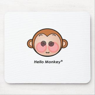 Hello Monkey dazzling Mousepad
