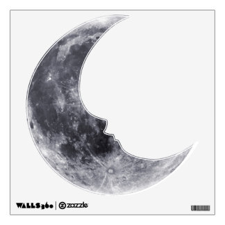 Hello Moon Wall Decal