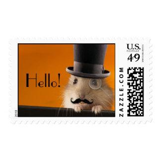 Hello Mr. Hamster Postage