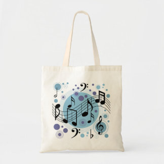 hello music tote bag