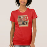 Hello My Baby Sheet Music Women's T-Shirt Red