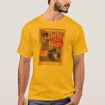 Hello My Baby Vintage Sheet Music T-Shirt