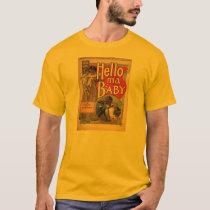 Hello My Baby Vintage Sheet Music T-Shirt