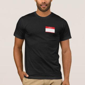Hello My Gender Is . . . (dark colors) T-Shirt