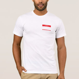 Hello My Gender Is . . . (light color) T-Shirt