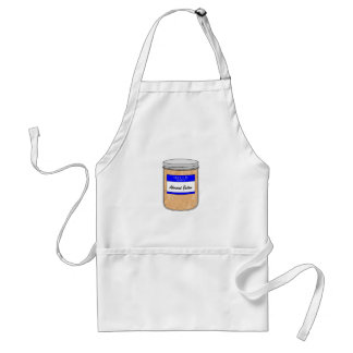 Hello My Name is Almond Butter Adult Apron