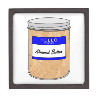 Hello My Name is Almond Butter Gift Box