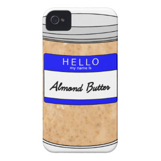 Hello My Name is Almond Butter iPhone 4 Case-Mate Case