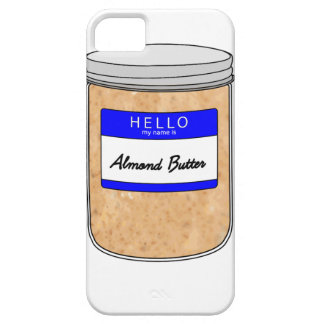 Hello My Name is Almond Butter iPhone SE/5/5s Case