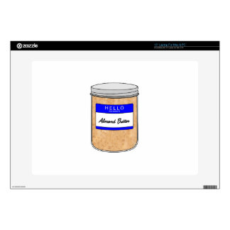 Hello My Name is Almond Butter Laptop Decals