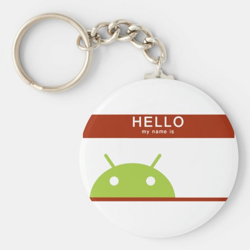 hello my name is Android Keychain