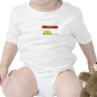 hello my name is Android T Shirt