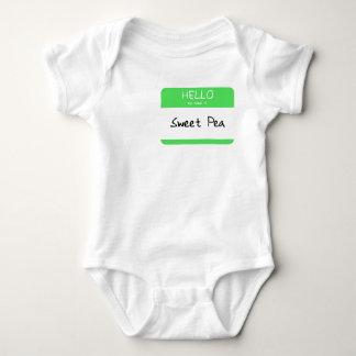 Hello, my name is... baby bodysuit