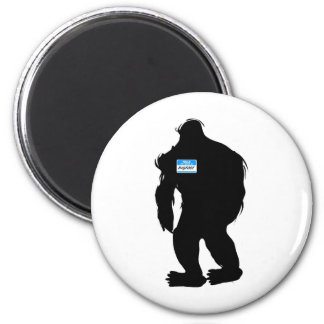 Hello-My Name Is BigFoot Magnet