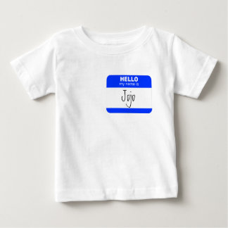 Hello, My Name is ... (blue) Baby T-Shirt