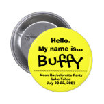 Hello.My name is Buffy Button