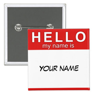 Hello My Name is Button