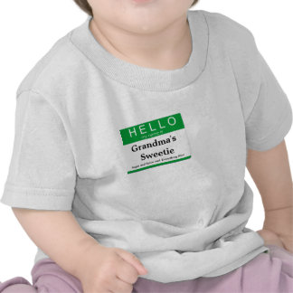 Hello My Name is:  Customize this Label! Tshirt