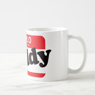 Hello My Name Is Daddy Classic White Coffee Mug