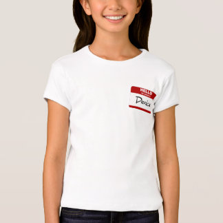 Hello My Name Is Danica (Red) T-Shirt