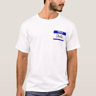 Hello My Name Is Dexter (Blue) T-Shirt