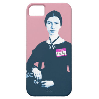Hello My Name Is Emily Dickinson Pink iPhone Case iPhone 5 Cover