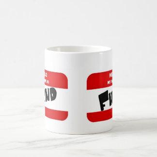 Hello, my name is FIEND Classic White Coffee Mug