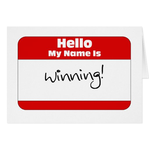 Hello, My Name Is... Greeting Card