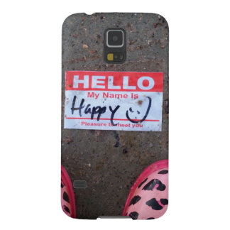 Hello, My Name Is Happy Case For Galaxy S5
