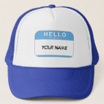 """Hello My Name is Hat<br><div class=""""desc"""">Change the name to anything you want on this &quot;Hello My Name Is&quot; template!</div>"""