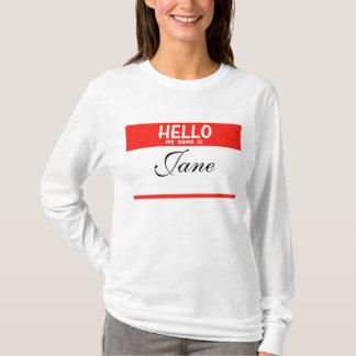 Hello My Name Is ______ Hoodie