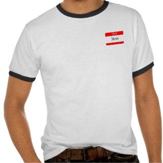 Hello My Name is Jiichan t-shirt