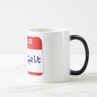 Hello My Name is John Galt Magic Mug