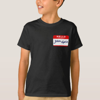 Hello My Name is John Galt T-Shirt