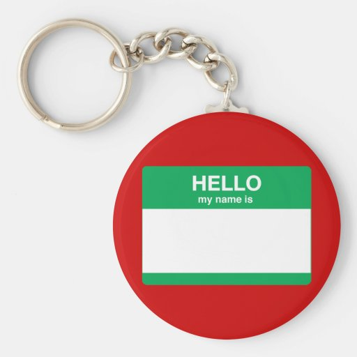 Hello, My Name is Keychains