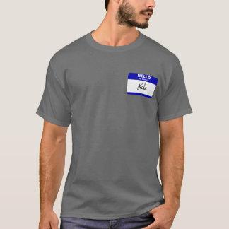 Hello My Name Is Kole (Blue) T-Shirt